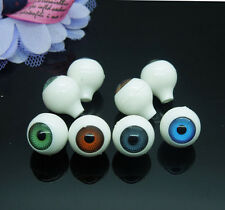 16Pcs(8pairs) Doll Eyes Animal Puppet Craft Plastic Safety Eyes Eyeballs 12mm