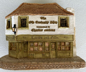 Lilliput-Lane-Coleccion-Antiguo-curiosidad-Tienda-de-Inglaterra-1985-1989-En-Miniatura