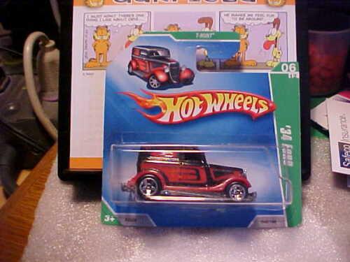 2009 Hot Wheels Treasure Hunt #6 /'34 Ford Short Card