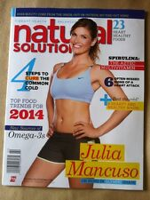 Natural Solutions February 2014 FREE SHIPPING, 23 Heart Healthy Foods, Cure Cold