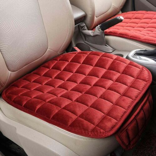 Universal Car Seat Cover Breathable Plush Cotton Pad Mat for Auto Chair Cushion