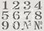 Conjunto de número de números A5 Stencil ❤ Muebles De Tela Vintage Francés Shabby Chic