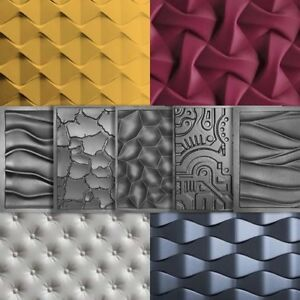 Business & Industrial *square* 3d Decorative Wall Panels 1 Pcs Abs Plastic Mold For Plaster By Scientific Process