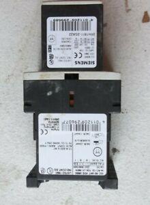 Siemens 3ZX1012 0RH11 1AA1 3RH1911 2FA22