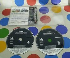FINAL FANTASY ANTOLOGY PROMO - PAL - PSX - RARE - SERIOUS OFFERS ARE WELCOME !