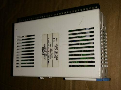 SUNX  HL-C1C LASER SENSOR .Ver.3.34