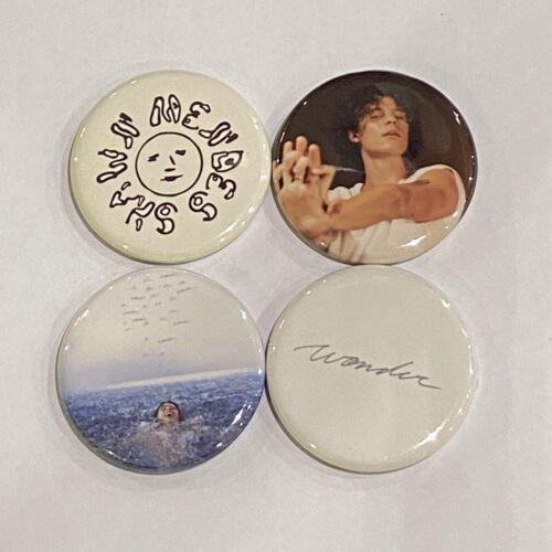 "Shawn Mendes Wonder Button Set Of 4 Pins 1.25"""