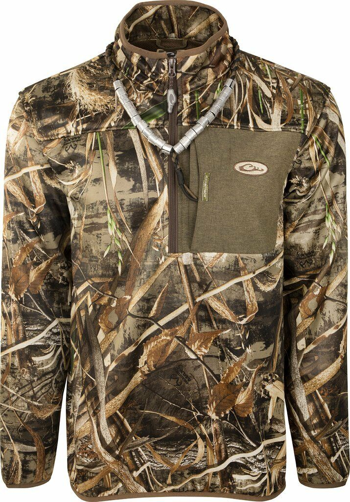 Drake Waterfowl MST Endurance 1 4 Zip Realtree Max 5 2XL DW8605-015-05