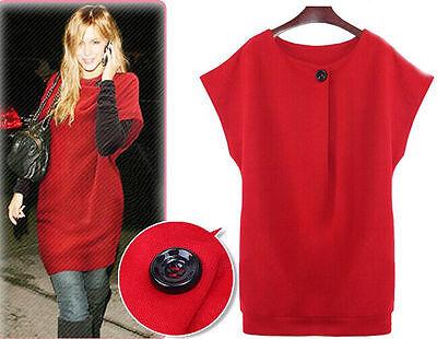 Ladies Sweatershirt Women Fall Winter Warm Loose Large Code Base Skirt Dress
