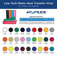 "Heat Transfer Vinyl For Tshirts - 20"" x 5 Foot Roll"