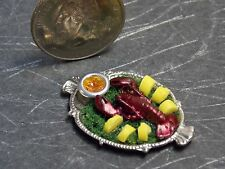 Dollhouse Miniature Food Baked Beans in Kettle Pot 1:12 scale K23 Dollys Gallery