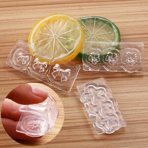 1stk-Klar-Silikon-3D-Nail-Art-Nagel-Form-Herz-Seestern-Schleife-UV-Gel-Tool