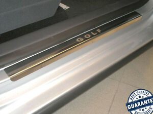 VW-GOLF-PLUS-V-VI-2004-14-Stainless-Steel-Door-Sill-Guard-Cover-Scuff-Protectors