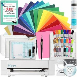 Silhouette-Curio-Starter-Bundle-with-24-Oracal-651-Sheets-and-Accessories