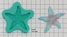 Sugarcraft Stampi WEDDING CAKE DECORAZIONE STAMPI SILICONE ARTIGIANALI stella di mare (6039)