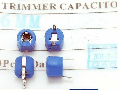 10 or 25 5 Lot of 1 1.5pF-120pF Variable Ceramic Trimmer Capacitors