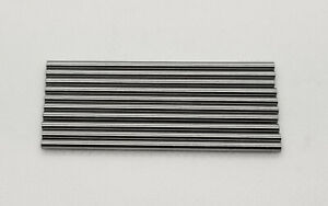 """3/32"""" Drill Blank Axle (10 Pack) Slot Car 1/24"""