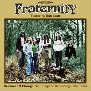 Fraternity Seasons of Change The Complete Recordings 1970-1974 3 CD