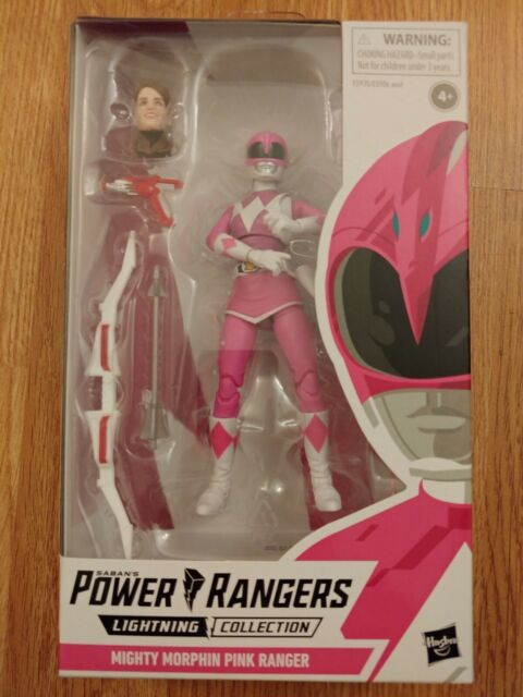 Hasbro Power Rangers Lightning Collection Mighty Morphin Pink Ranger 6in Action…