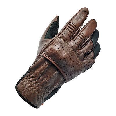 Braun Motorrad Handschuhe Biltwell Moto Gloves Orange Größe L