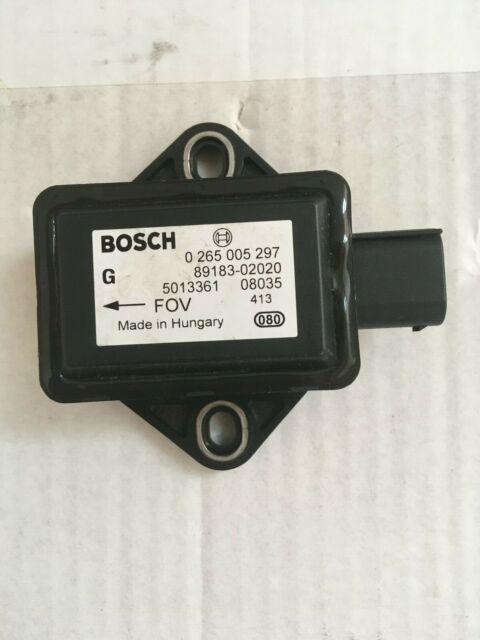 ⭐⭐⭐⭐⭐ ESP Sensor 89183-02020 0265005297 0 265 005 297 TOYOTA⭐24 Monate Garantie*