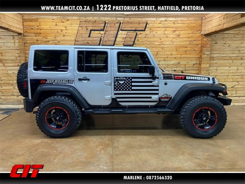 2012 Jeep Wrangler Unlimited 3.6L Sahara AT for sale!