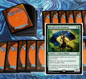 mtg-MODERN-GREEN-ENCHANTMENTS-DECK-Magic-the-Gathering-rare-60-cards