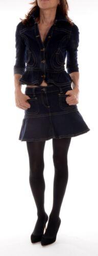 Rock Kostüm Zauberhaftes 34 It Zweiteiler D Jeansjacke Gr 40 Valentino Red qXtO44