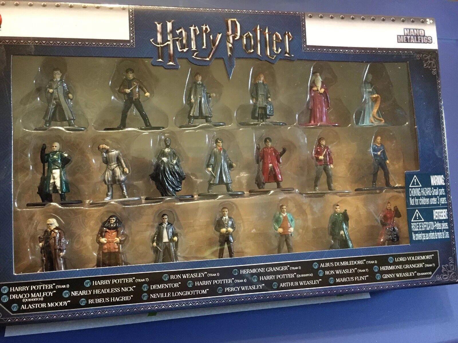 Jada Nano Nano Nano Metalfigs Harry Potter Metal Figures 20 Pc Set NEW NIB 86529e