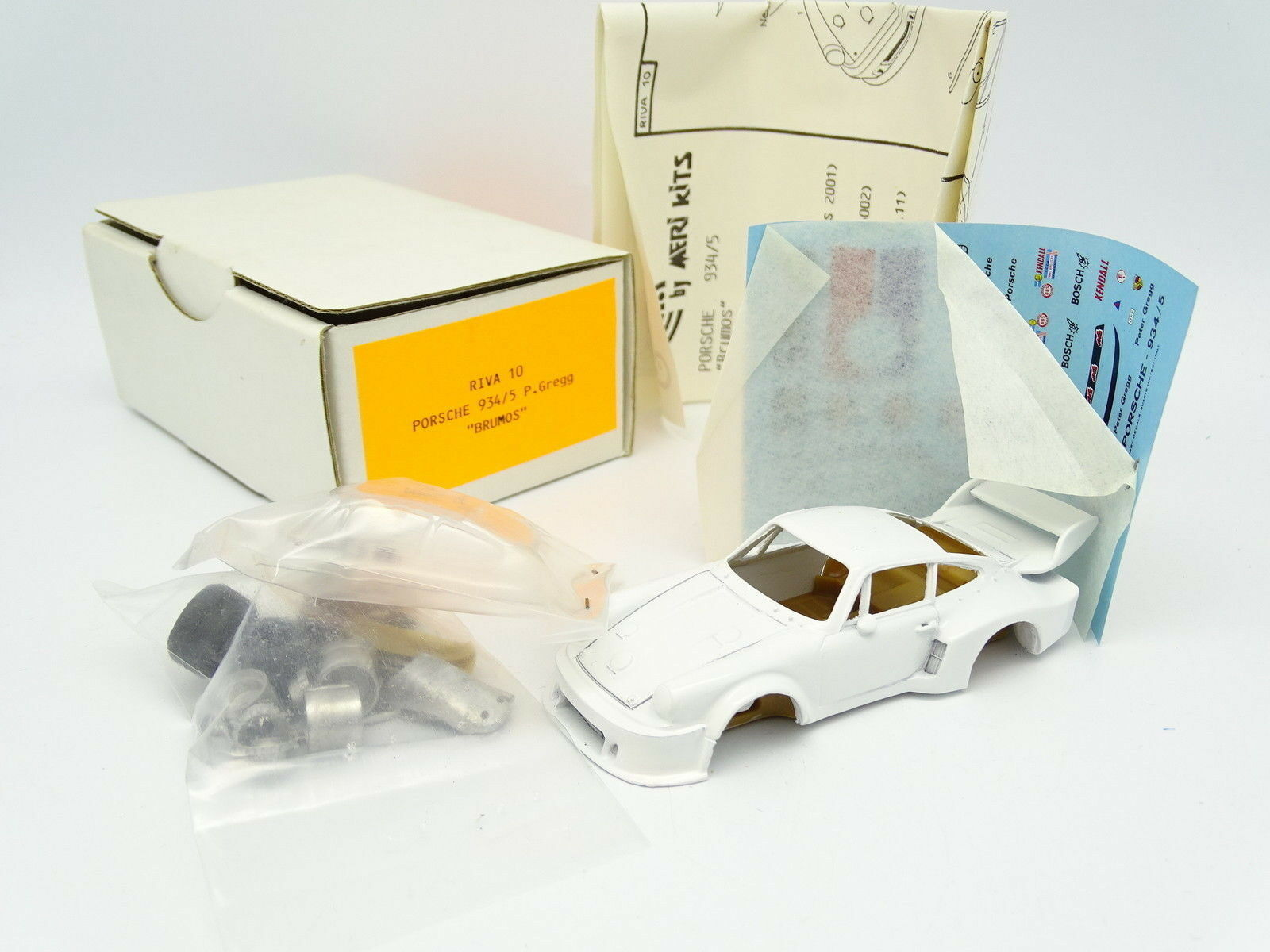 Meri riva kit to  mount 1 43 - porsche 934 5 brumos trans am champion 1977 gregg  vente discount en ligne