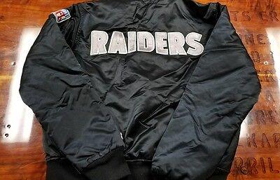 Medium  Raiders starter jacket,vtg, vintage satin jacket, 90s, NWA, hip hop