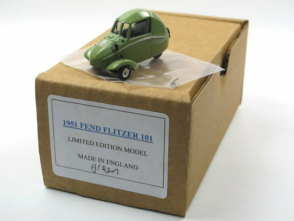 SAMS Model Cars 1951 FEND bolide triciclo Green Bianco Metallo White Metal 1/43