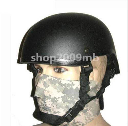 JUST Replica FRP ACH MICH 2001 Helmet Tactical Military Airsoft Helmet Fit 62cm