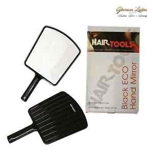 Friseur salon spiegel hair tools eco hand spiegel schwarz friseur spiegel ebay - Spiegel salon ...