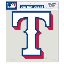 "Texas Rangers 8""x8"" Die-Cut Auto Decal [NEW] MLB Car Sticker Emblem CDG"