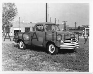 1954 Studebaker 3R5 Pickup Truck Ref. #78321 Factory Photo