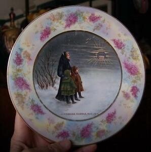 Lovely Circa 1909 Hand Painted U.c.t Ceramics & Porcelain Council Pittsburg Kansas Cabinet Plate Elegant And Graceful Plates & Chargers