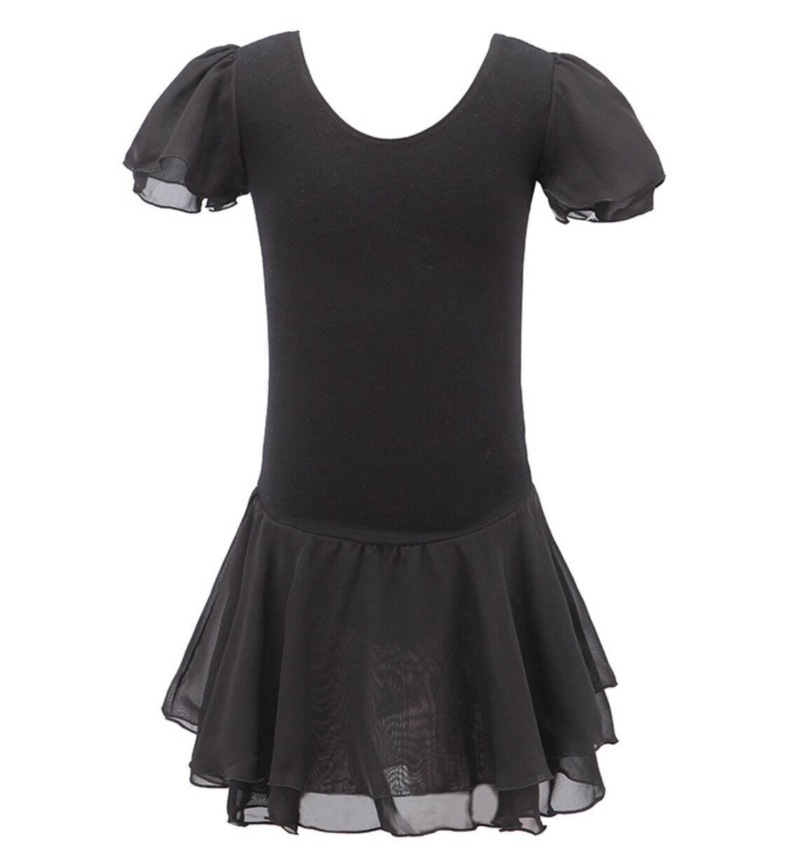 Bambina: abbigliamento Vestito Tutù Body Lezione Danza Saggio Bambina Girl Ballet Tutu Dress DANC121 Abbigliamento per lo sport