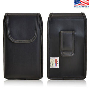 iPhone-4S-Leather-Cell-Phone-Vertical-holster-Case-with-Flush-Black-Belt-Clip