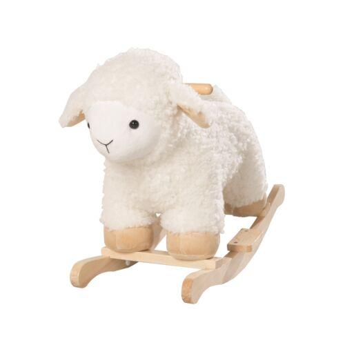Schaukelschaf mit robusten Holzgriffen Roba Kids Schaukeltier Schaf