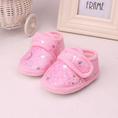Non-Slip Newborn Infant Baby Toddler Soft bottom Shoes 3 Colors Girls Boys