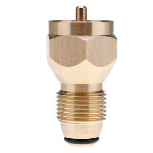 BBQ Grill Saver Small 1lb Propane Tank Gas Adapter refill ...