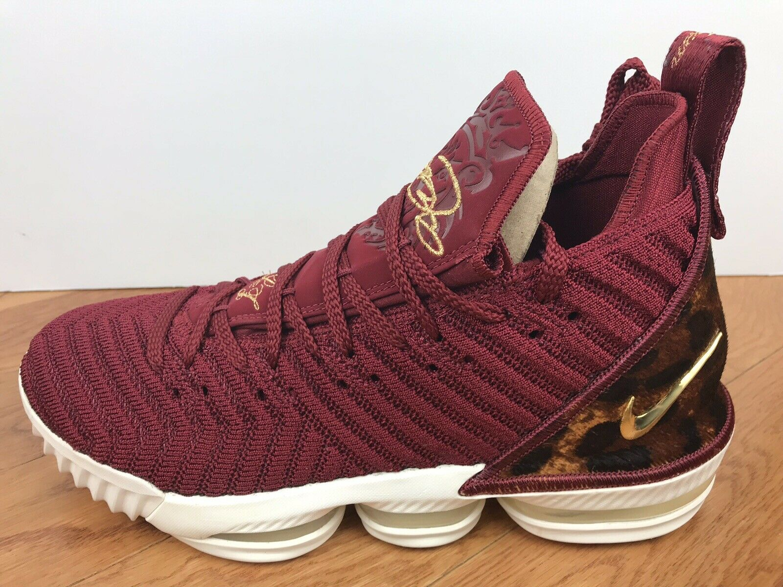 """ef5723b636 Men's Nike Lebron XVI King"""" Size-10 Team Red gold (AO2588 601) 16 """"The  ntalgh4591-Athletic Shoes"""