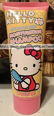 HELLO KITTY Sanrio MOISTURIZING SHAMPOO - Cotton Candy - 7 OZ - SCENTED!
