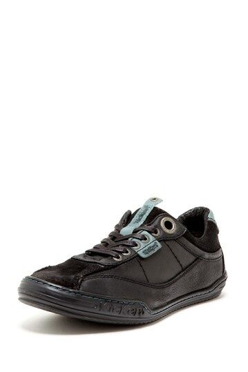 Kickers Jinial Laced Sneakers Black Grey Mens shoes size US 7.5-12