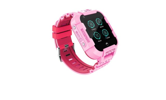 4G Anti-lost GPS Kid Smart Watch SOS GSM VIDEO CALL Safe LBS Tracker Wrist  IP67