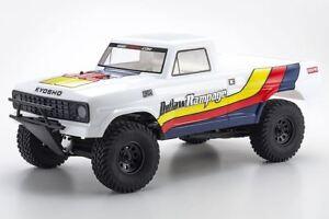 京商-Outlaw Rampage 1/10 2wd 2sra 電動卡車、白色、賽艇