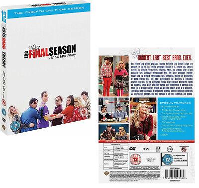 El Big Bang Theory 12 2017 2018 Serie De Tv Temporada Final Dvd Rg2 Nuevo Ebay