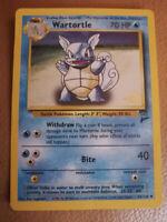 WOTC Gold Stamp Base Set 2 Wartortle! 63/130 Pokémon 2000 Rare P Shawinigan Mauricie Preview