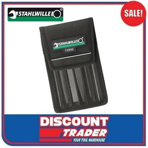 Stahlwille Precision Warding File Set 6 Piece Including Wallet 72230001 - 12800